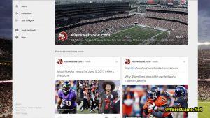 San Francisco 49ers Google Plus