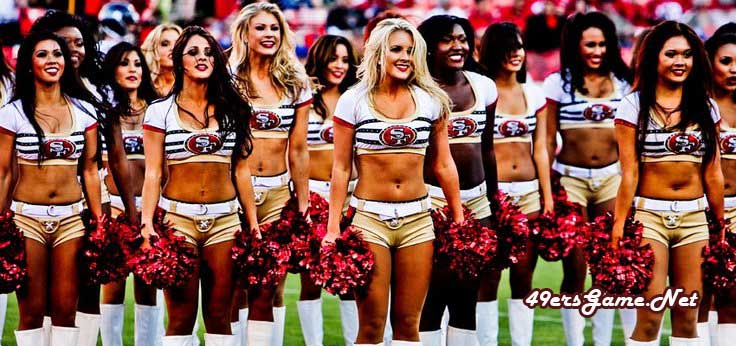 The San Francisco 49ers Cheerleaders