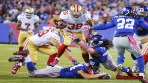 New Yorks Giants vsSan Francisco 49ersRivalry